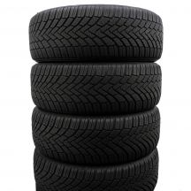 4 x CONTINENTAL 205/55 R16 91H 6-7mm ContiWinterContact TS 850 Winterreifen DOT14