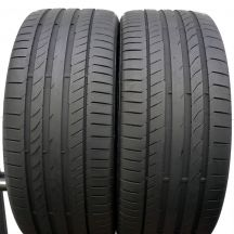 2 x CONTINENTAL 265/35 R21 101Y XL 5.5-6mm ContiSportContact 5 P Sommerreifen DOT17/16