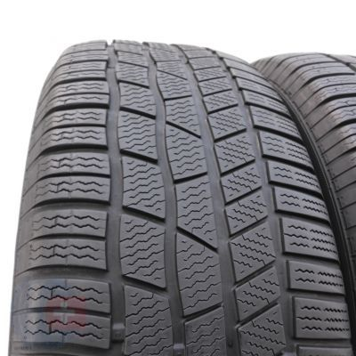 2. 2 x CONTINENTAL 255/60 R18 108H A0 5.8mm ContiWinterContact TS 830 P Winterreifen DOT15