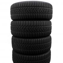 4 x PIRELLI 205/50 R17 93V XL 6mm Sottozero 3 Winter Winterreifen DOT16/15
