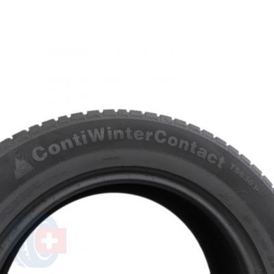 5. 2 x CONTINENTAL 255/60 R18 108H A0 5.8mm ContiWinterContact TS 830 P Winterreifen DOT15