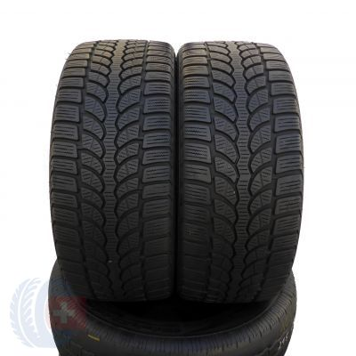 2 x BRIDGESTONE 225/40 R18 92V XL 6mm Blizzak Winterreifen DOT13