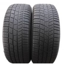 2 x CONTINENTAL 255/60 R18 108H A0 5.8mm ContiWinterContact TS 830 P Winterreifen DOT15