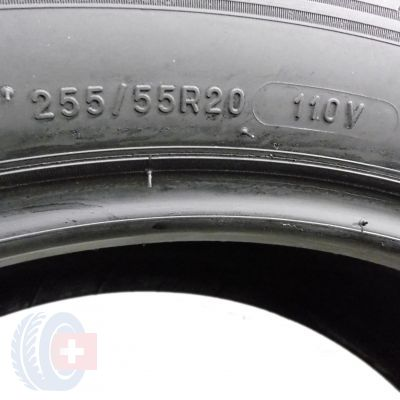 6. 4 x MICHELIN 255/55 R20 110V XL 6mm Latitude Alpin LA2 Winterreifen DOT17