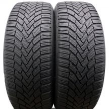 2 x CONTINENTAL 205/55 R16 91H 5,8mm ContiWinterContact TS850 Winterreifen DOT14