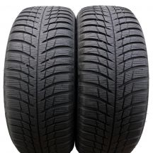2 x BRIDGESTONE 205/55 R16 91T 6,2-7mm Blizzak LM001 Winterreifen DOT16