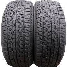 2 x HANKOOK 205/55 R16C 98/96 T 6mm Winter RW06 Winterreifen DOT16