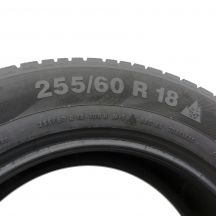 6. 2 x CONTINENTAL 255/60 R18 108H A0 5.8mm ContiWinterContact TS 830 P Winterreifen DOT15