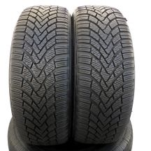 2 x CONTINENTAL 205/55 R16 91H 7,3-8mm ContiWinterContact TS850 Winterreifen DOT13