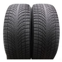 2. 4 x MICHELIN 255/55 R20 110V XL 6mm Latitude Alpin LA2 Winterreifen DOT17